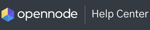 OpenNode Help Center