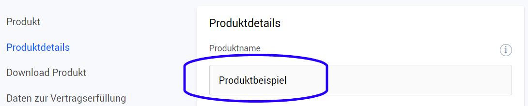 Produktname