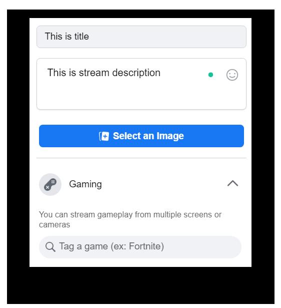Stream details