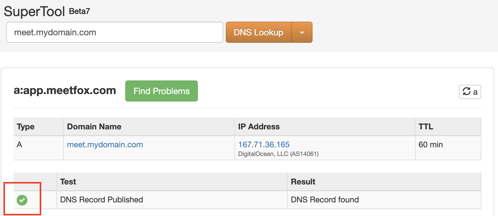Change DNS Records
