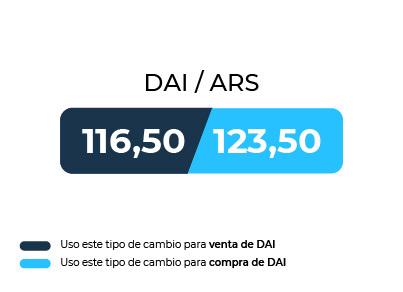 Caso de compra de DAI con pesos