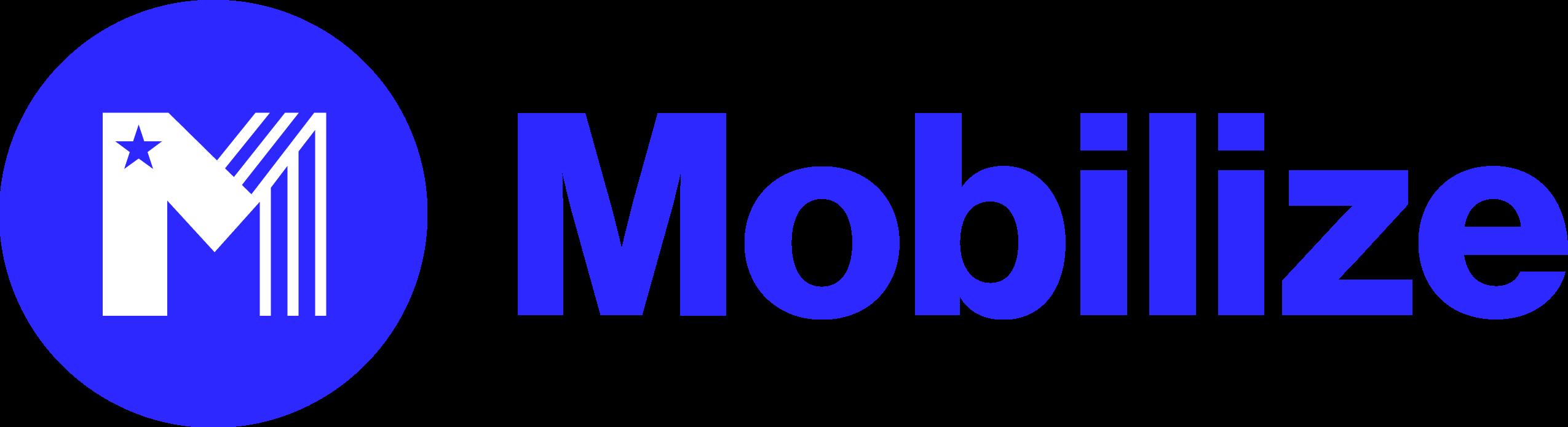 Blue mobilize logo
