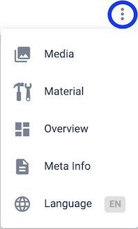 Settings menu of the Assistant-Viewer