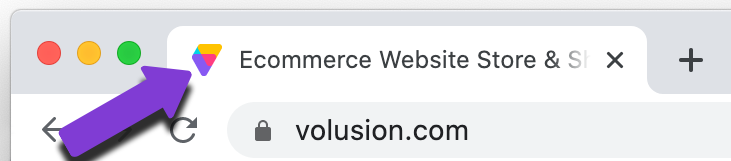An example of a favicon.