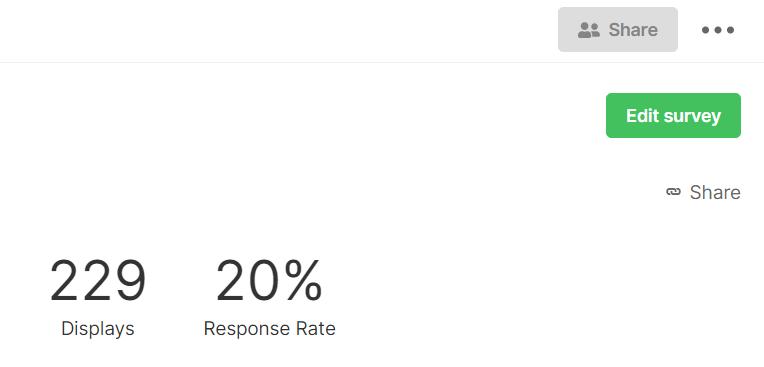 SatisMeter - Share survey results via public link