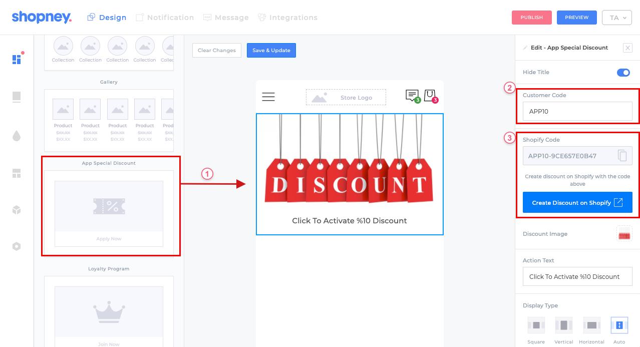 discount code example