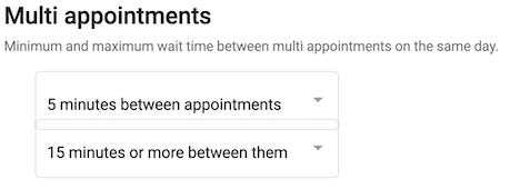 Dentally patient portal multiple appointments