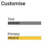Dentally Patient Portal Customise Brand colours