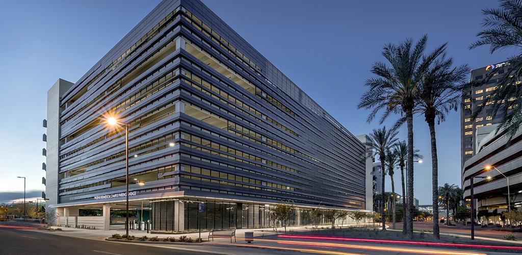 Watry Design, Inc. Phoenix Biomedical Campus P3 Parking Structure