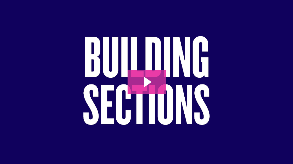 Building Sections video link