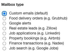Switch back to Custom Mailbox