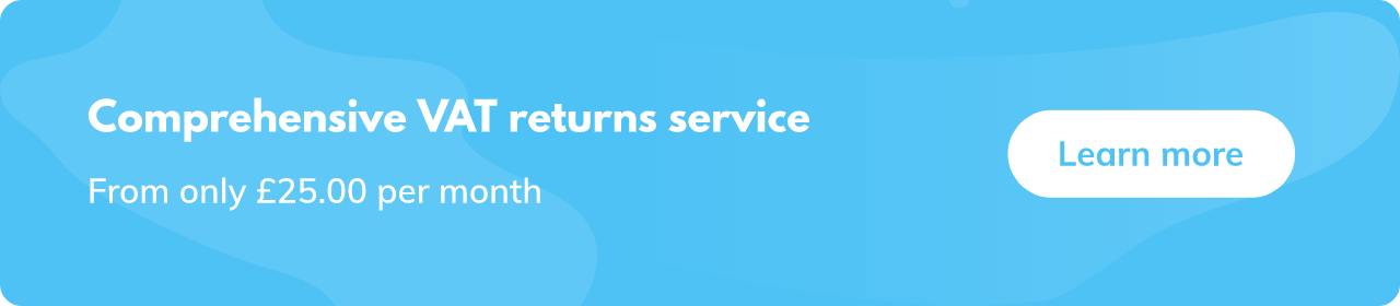 Vat return services from £25 per month
