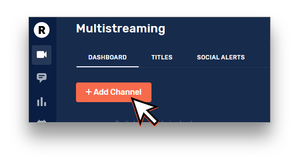 Add Channel to Restream
