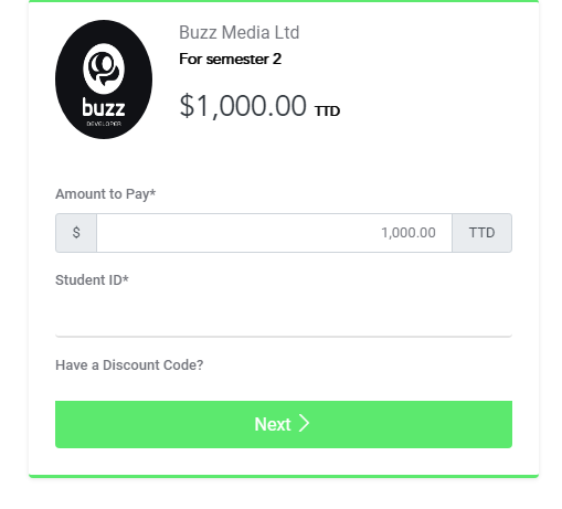Buzz Pay Screenshot 1
