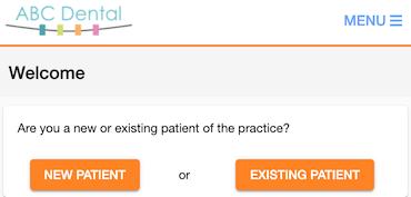 Dentally Patient Portal New Patient