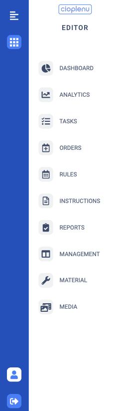 Die neue Seitenleiste im Assistant sowie im Editor