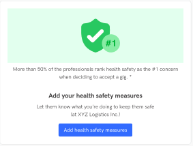 Health Safety Measures