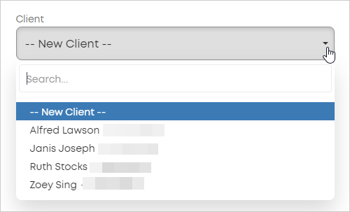 LawTap booking details for existing client
