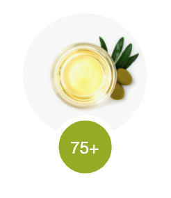 Olive oil - an example of a 75+ scoring fat.