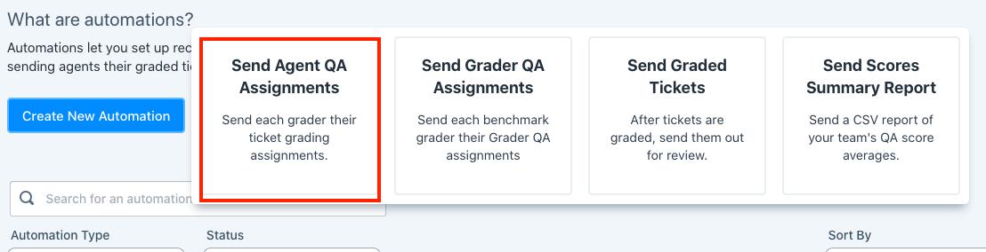 send agent qa assignments