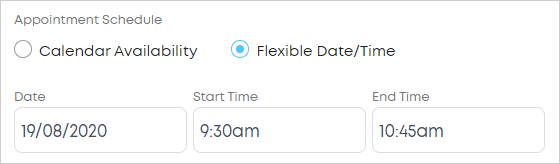 LawTap Flexible Date/Time booking option