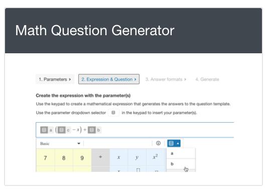 The Math Question Generator