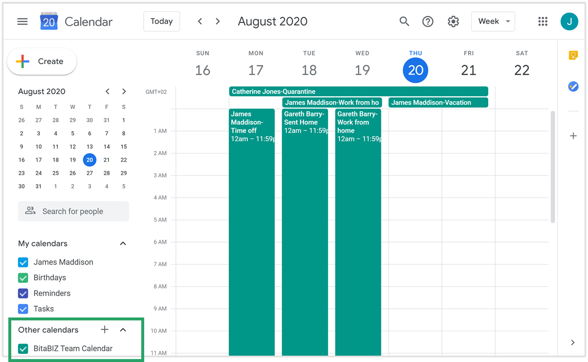 Google calendar add calendar from URL