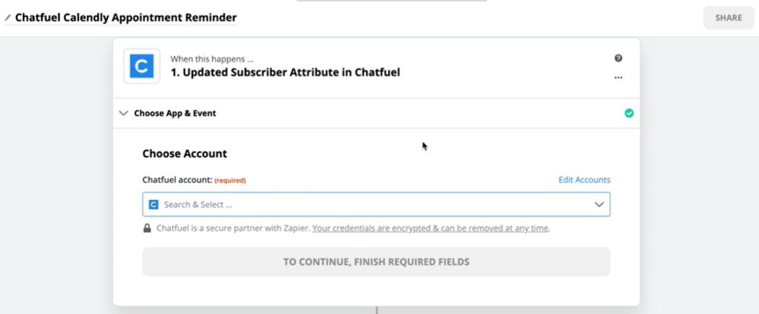 chat bot template zapier