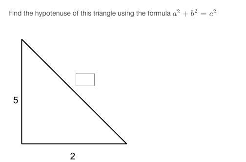 Cloze math with image question example