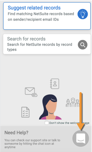 Get help directly in the CloudExtend App