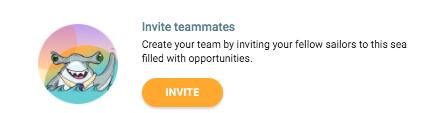 invite teammates sirena