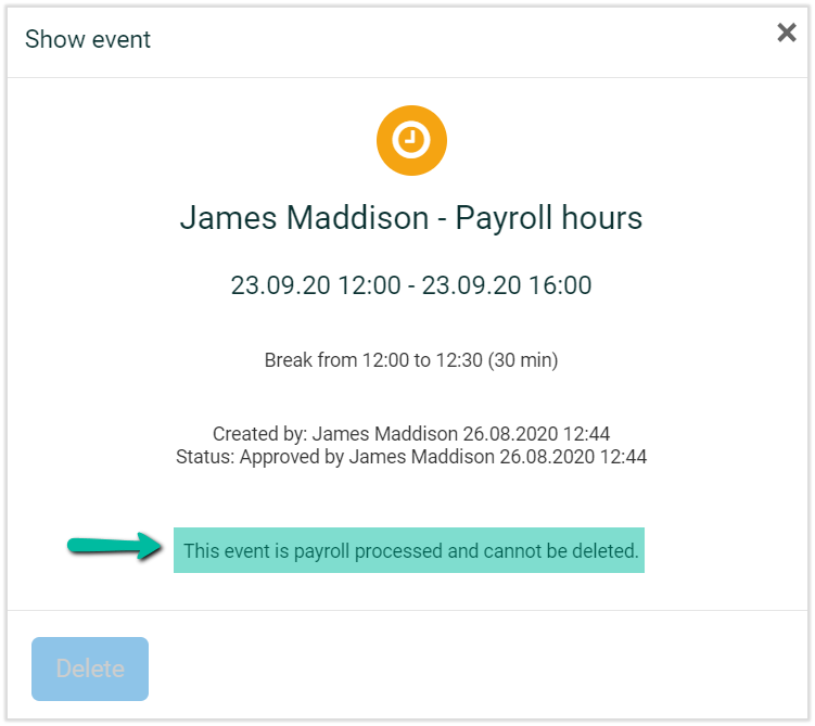 time registration for payroll