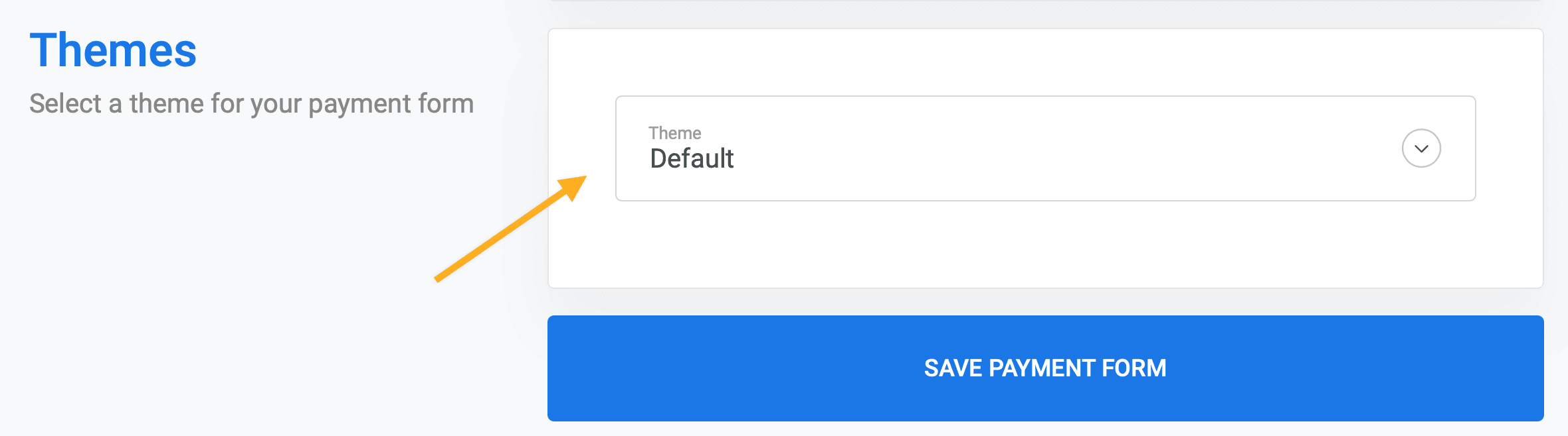 Change Stripe checkout page