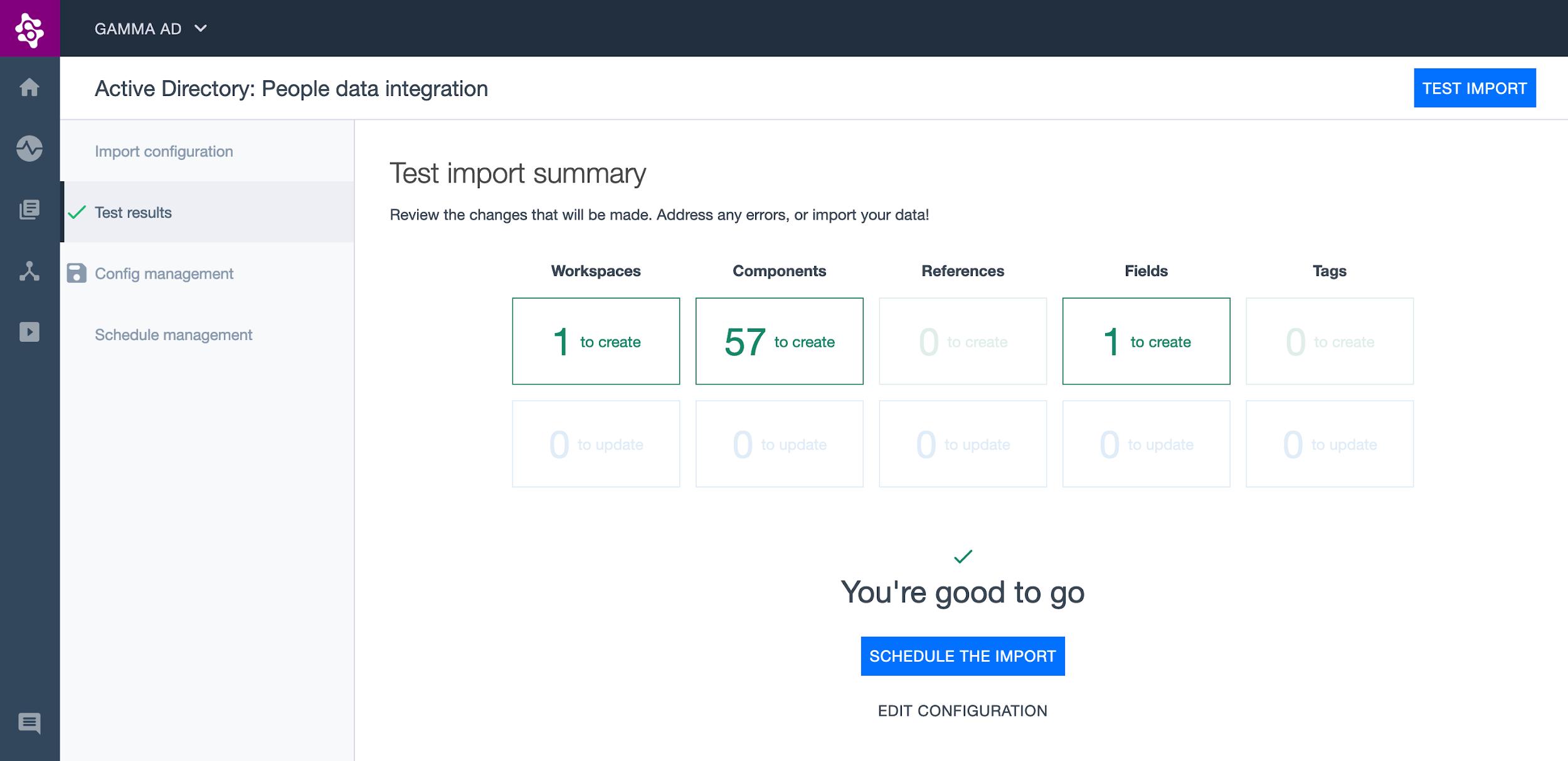 Test Ardoq Azure Active Directory import