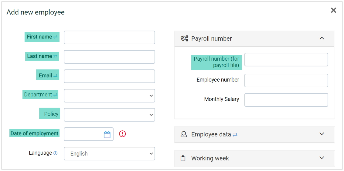 time registration software for employees