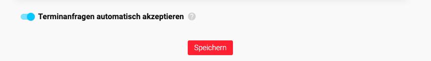 MeetFox Terminanfragen automatisch akzeptieren