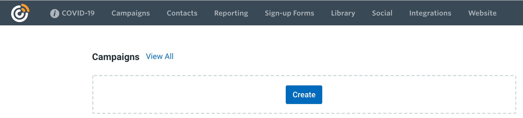 Create new Constant Contact Email