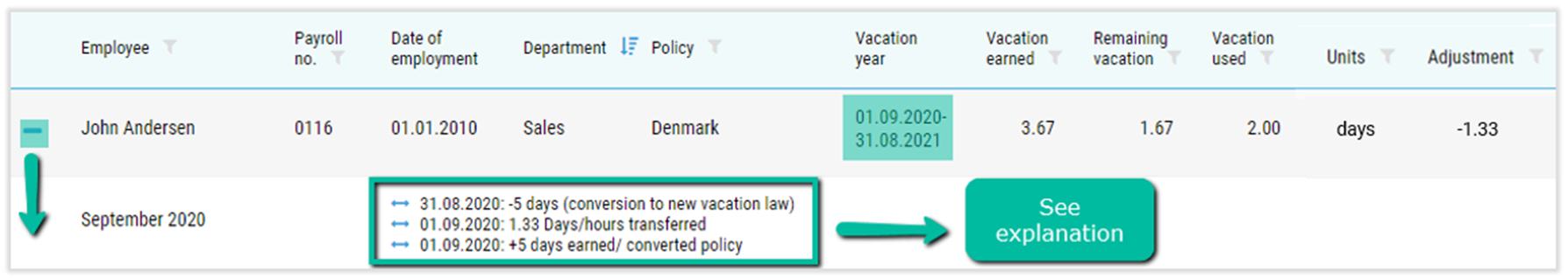 new vacation law
