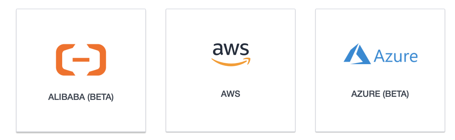 Ardoq multiple account support for Alibabe and AWS