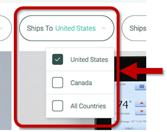 Shipping Country