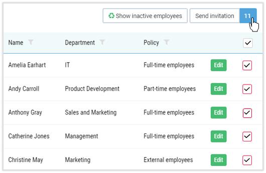 employee time registration