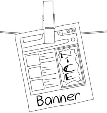 Banner, Display