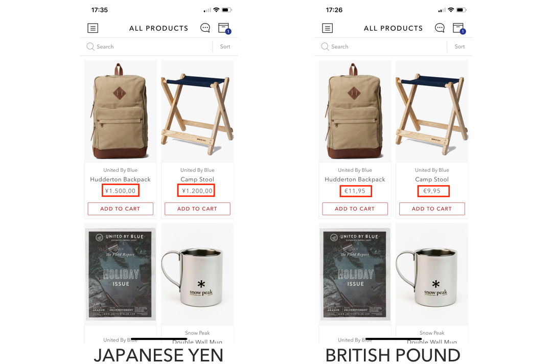 shopney-shopify multicurrency example