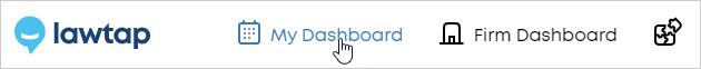 LawTap My Dashboard link