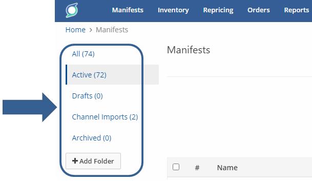 SellerChamp marketplace manifest folders