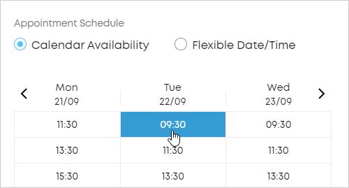 LawTap Calendar Availability mode