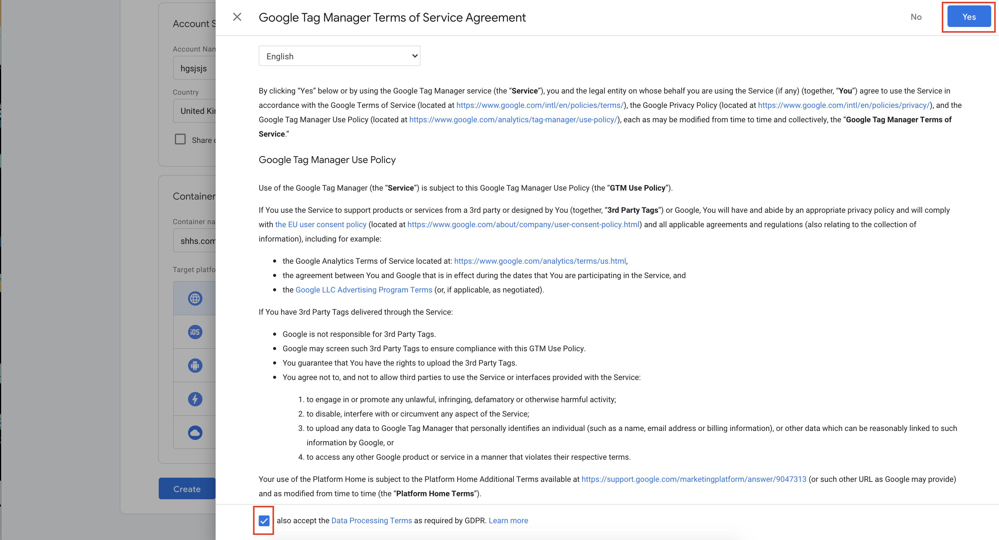 كيفية إضافة جوجل تاج مانجر على المتجر الإلكتروني
