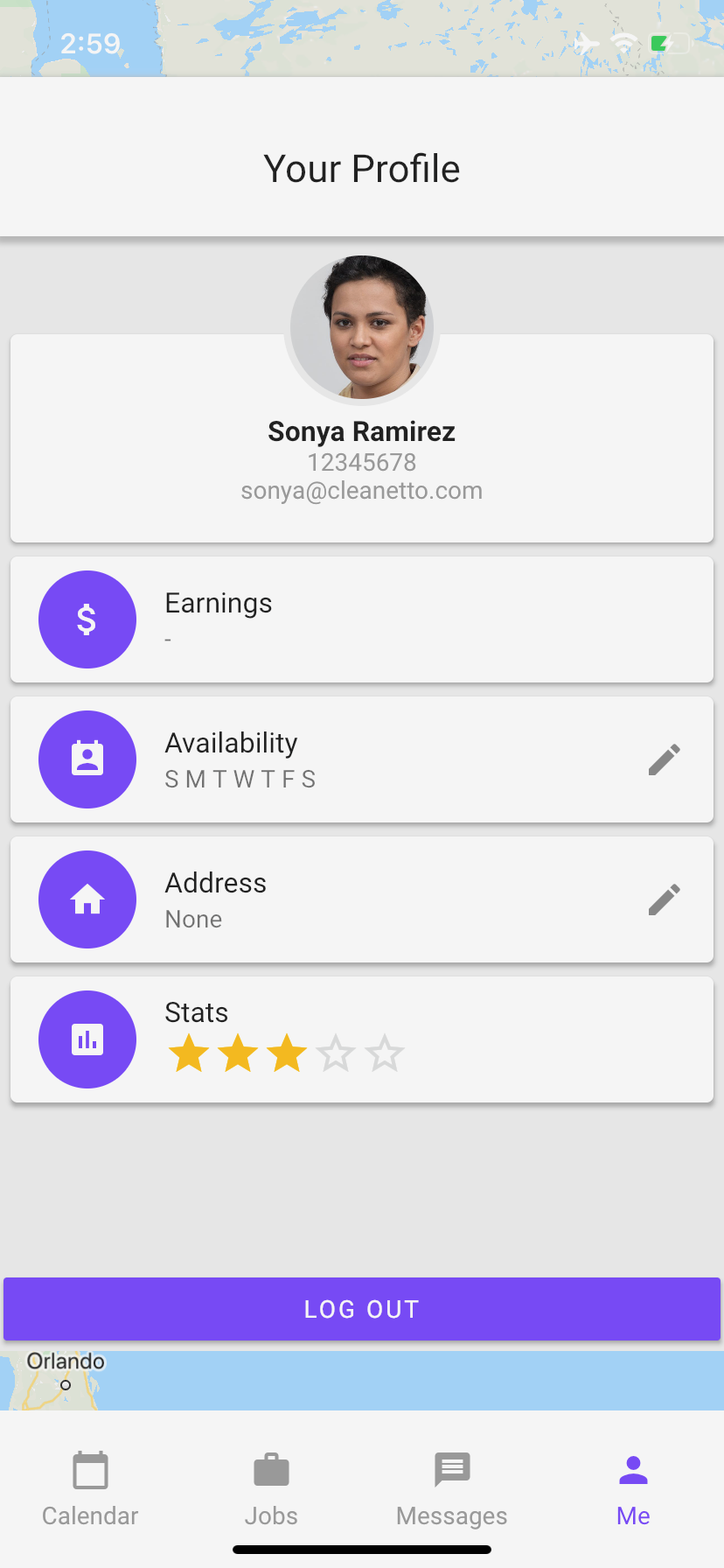 Cleanetto Cleaner App Profile