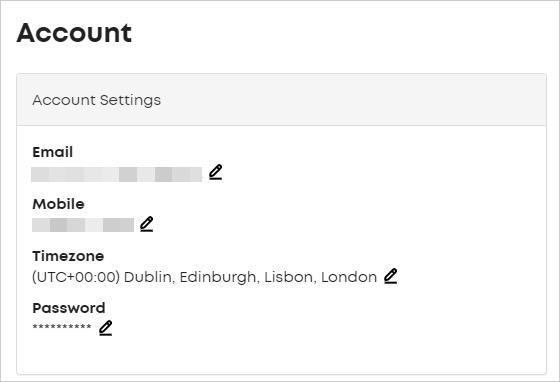 LawTap Account Settings