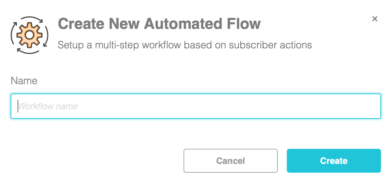 create a new automated flow window